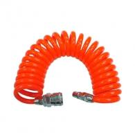 Маркуч спирален за въздух RAIDER RD-CH03 ф6.5х9.5мм/5м, с бързи връзки 1/4'', работно налягане 8.3bar, max 24bar