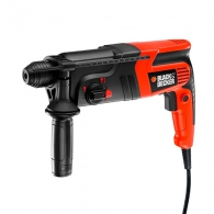 Перфоратор BLACK&DECKER KD860KA, 600W, 0- 960об, 0-5100уд/мин, 1.6J, SDS-Plus