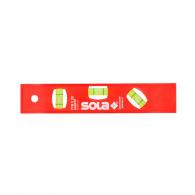 Пластмасов нивелир SOLA PTM5 20cm, с три либели, магнитен и отчитане на ъгъл 45градуса