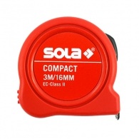 Ролетка пласмасов корпус SOLA COMPACT 3м x 16мм, EG-клас 2