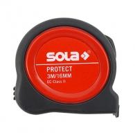 Ролетка SOLA PROTECT PE 3m x 16mm, гумирана, пласмасов корпус, EG-клас 2