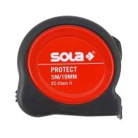 Ролетка SOLA PROTECT PE 5m x 19mm, гумирана, пласмасов корпус, EG-клас 2