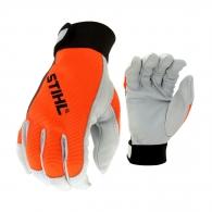 Ръкавици STIHL DYNAMIC SensoLight L, щавена ярешка кожа, памучна подплата и ластичен маншет, размер L