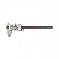 Шублер дигитален KINEX 150мм, ± 0.01, с дълбокомер, стопорен винт, неръждаема стомана, мини USB