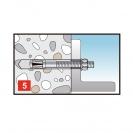 Анкер сегментен FRIULSIDER 75320 M12х80, сертифициран, 50бр. в кутия - small, 136306