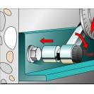 Анкер втулков с гайка FRIULSIDER 79600 M6/8х40мм, за средни натоварвания, 100бр. в кутия, несертифициран - small, 137448