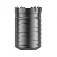 Боркорона с твърдосплавни пластини DREBO 125х100мм, за бетон и зидария, вътрешен конус 1:8, сухо пробиване