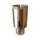 Боркорона с прахообразен диамант SURE-SHAPE 35x70/45мм, захват M14, фаянс и теракот - small