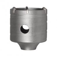 Боркорона с твърдосплавни пластини DREBO-RITTER 80х75/50мм, за бетон и зидария, олекотена, с вътрешна резба M16, сухо пробиване