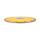 Диск диамантен SWATYCOMET ECONOM SEGMENT 125х2.2х22.23мм, за бетон и керемиди, сухо рязане  - small, 29274