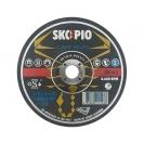 Диск карбофлексов SWATYCOMET SCORPIO 178х6.0х22.23мм, за шлайфане на алуминий и чугун - small