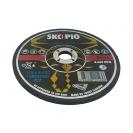 Диск карбофлексов SWATYCOMET SCORPIO 178х6.0х22.23мм, за шлайфане на алуминий и чугун - small, 27066