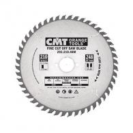 Диск с твърдосплавни пластини CMT 190/2.6/20 Z=40, за рязане на меки, твърди и екзотична дървесина, дървесни плоскости
