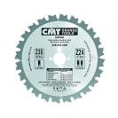 Диск с твърдосплавни пластини CMT 200/2.8/30 Z=24, за рязане на мека и твърда дървесина - small