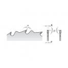 Диск с твърдосплавни пластини CMT 200/2.8/30 Z=24, за рязане на мека и твърда дървесина - small, 87330