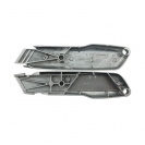 Макетен нож STANLEY 18х136мм, метален корпус, фиксирано острие, 1бр острие - small, 36247