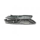 Макетен нож STANLEY 18х136мм, метален корпус, фиксирано острие, 1бр острие - small, 36248