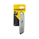 Макетен нож STANLEY 18х136мм, метален корпус, фиксирано острие, 1бр острие - small, 36249