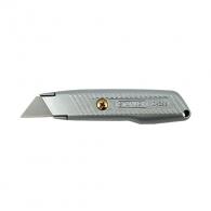 Макетен нож STANLEY 18х136мм, метален корпус, фиксирано острие, 1бр острие