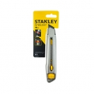 Макетен нож STANLEY Interlock 18x165мм, метален корпус - small, 37684
