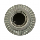 Нит гайка BRALO М4/L=9.5мм-St, стоманена с плоска периферия, 500бр. в кутия - small, 116884