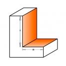 Профилен фрезер CMT D=31.7мм L=58мм I=12.7мм H=9.5мм S=8мм Z=2, HW, RH - small, 21367