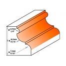 Профилен фрезер CMT D=47.5мм L=77мм I=28.5мм S=12мм Z=2, HW, RH - small, 19367