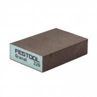 Абразивна гъба FESTOOL GR 98х69х26мм P220, четиристранна, за метал, дърво, пластмаси и боядисани изделия