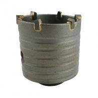 Боркорона с твърдосплавни пластини ABRABORO 66х75/55мм, за бетон и зидария, олекотена, с вътрешна резба M16, сухо пробиване
