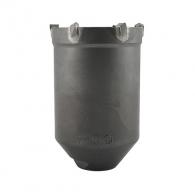 Боркорона с твърдосплавни пластини HELLER RATIO QUICK 68х105/80мм, за бетон и зидария, с вътрешна резба (система Ratio), сухо пробиване
