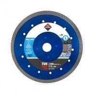 Диск диамантен RUBI TVH SUPER PRO 200х2.0х25.4мм, за гранитогрес, фаянс, теракот, гранит, мрамор, камък, тухли, порцелан