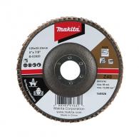 Диск ламелен MAKITA Riflex 125x22.23 P40, за шлайфане на метал и неръждаема стомана