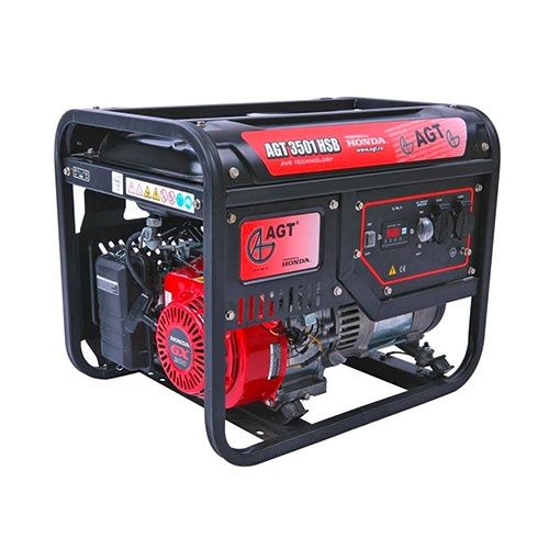Генератор AGT 3501 HSB GP TTL, 3.0kW, 230V, бензинов, монофазен,