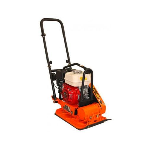 Комбинирана виброплоча за почва и асфалт BISONTE PC70H, 4.0kW, 11.5kN, 500х360мм