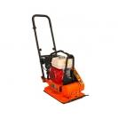 Комбинирана виброплоча за почва и асфалт BISONTE PC70H, 4.0kW, 11.5kN, 500х360мм - small