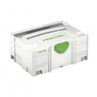 Куфар за инструменти FESTOOL SYS 2 TL, пластмаса, бял