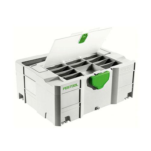 Куфар за инструменти FESTOOL SYS 2 TL-DF, пластмаса, бял