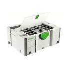 Куфар за инструменти FESTOOL SYS 2 TL-DF, пластмаса, бял - small, 48691