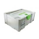 Куфар за инструменти FESTOOL SYS 2 TL-DF, пластмаса, бял - small, 48695