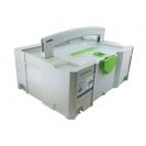 Куфар за инструменти FESTOOL SYS 2 TL-DF, пластмаса, бял - small, 48697