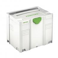 Куфар за инструменти FESTOOL SYS 4 TL, пластмаса, бял