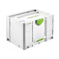 Куфар за инструменти FESTOOL SYS Combi 2, пластмаса, бял