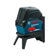 Линеен лазерен нивелир BOSCH GCL 2-15 Professional, 2 лазерни линии, точност 3mm/10m, автоматично