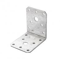 Планка монтажен ъгъл VALENTA 70x55x70x2.0мм, поцинкована, 10бр. в опаковка
