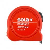 Ролетка пласмасов корпус SOLA COMPACT 8м x 25мм, EG-клас 2