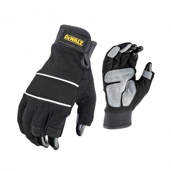 Ръкавици DEWALT DPG214 Performance, с два цели пръста, неопренови