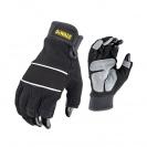 Ръкавици DEWALT DPG214 Performance, с два цели пръста, неопренови - small