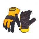 Ръкавици DEWALT DPG41 Leather Rigger, с пет пръста, телешка кожа - small
