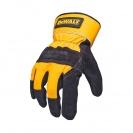 Ръкавици DEWALT DPG41 Leather Rigger, с пет пръста, телешка кожа - small, 97652