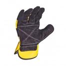 Ръкавици DEWALT DPG41 Leather Rigger, с пет пръста, телешка кожа - small, 97653